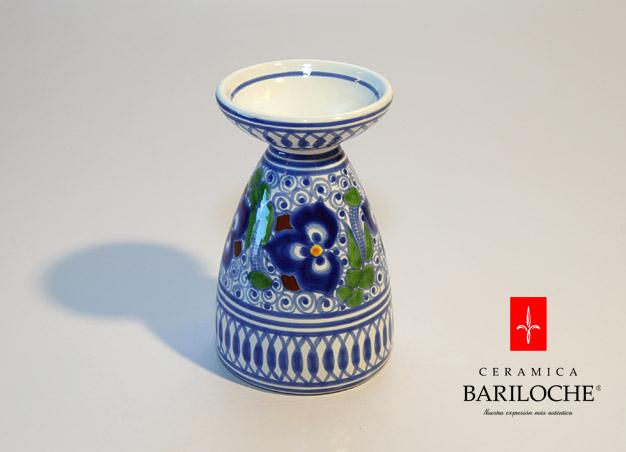 Portavelas en Pensamiento Ceramica Bariloche