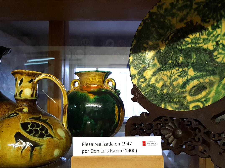 Primeros objetos de Cerámica Bariloche 1947
