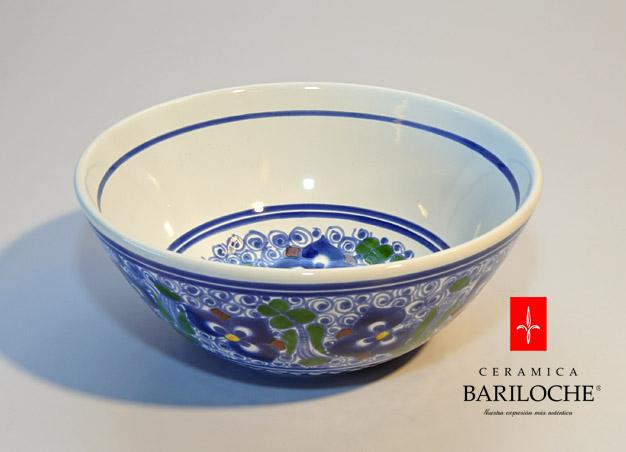 Ensaladera en Pensamiento Ceramica Bariloche