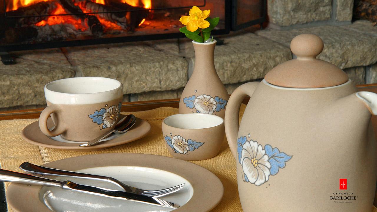 Set de te en Gres