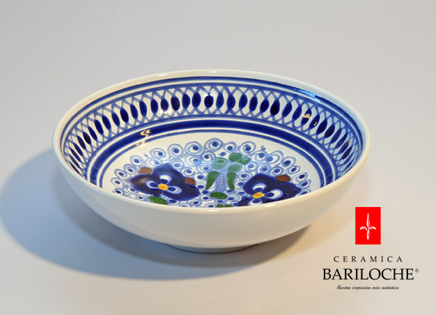 Plato en Pensamiento Ceramica Bariloche