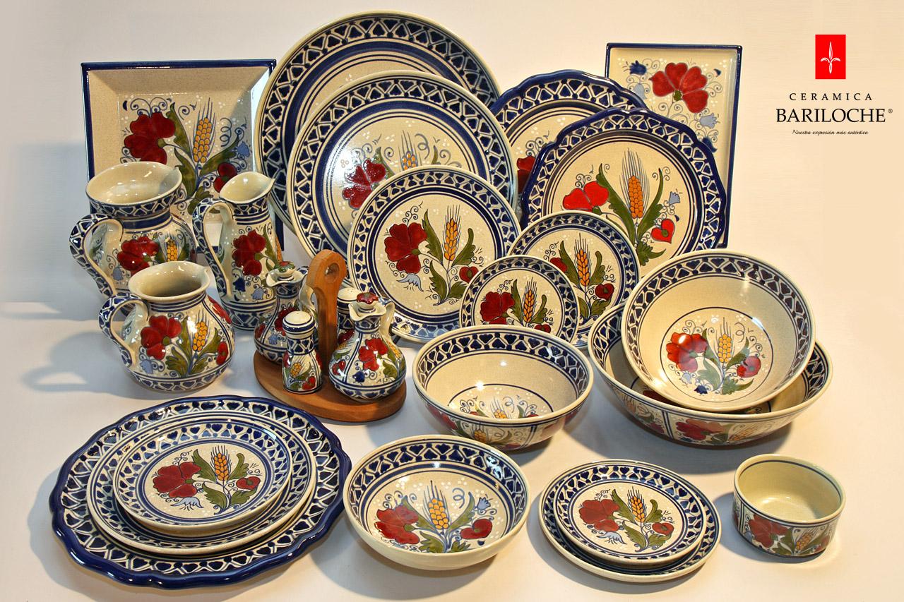 Vajillas ceramica vajilla en espiga ceramica bariloche for Vajilla ceramica