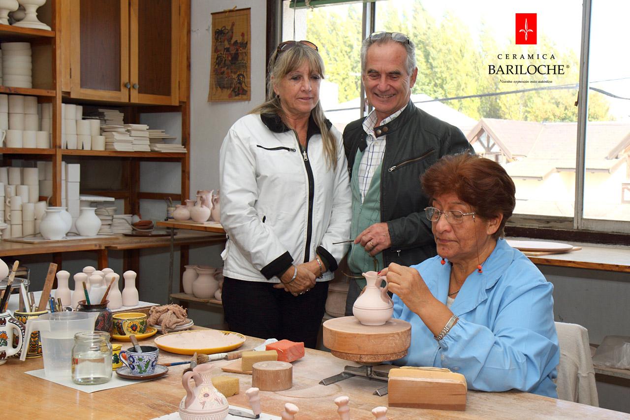 Visita a fábrica de Cerámica Bariloche - Tour -