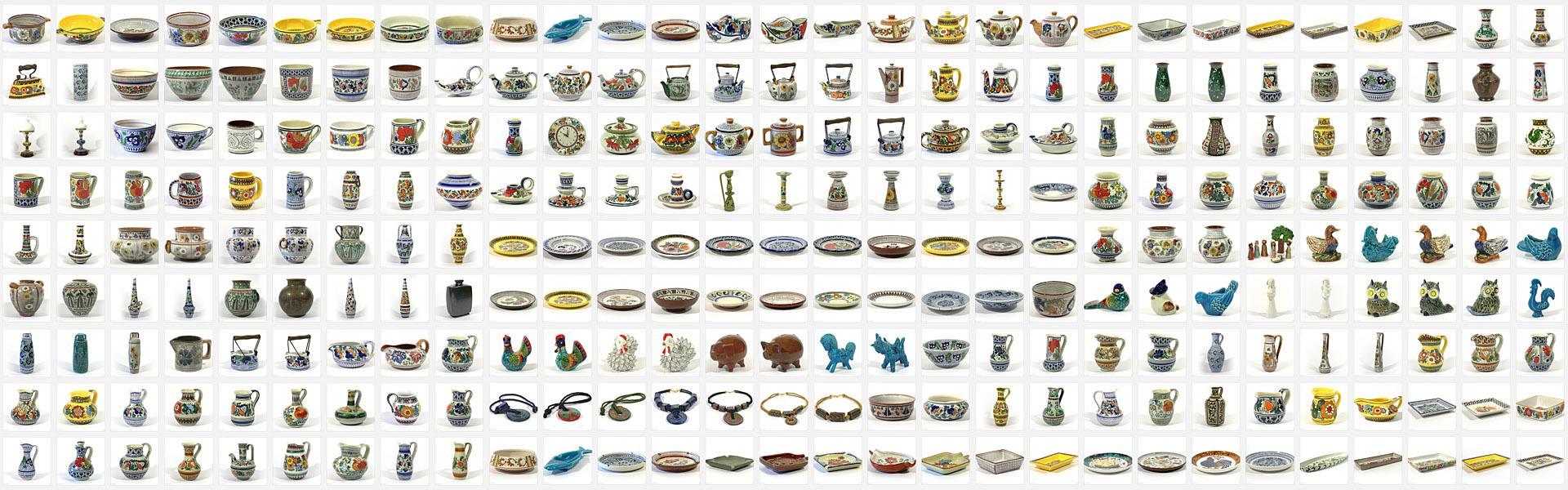 piezas1 ceramica bariloche