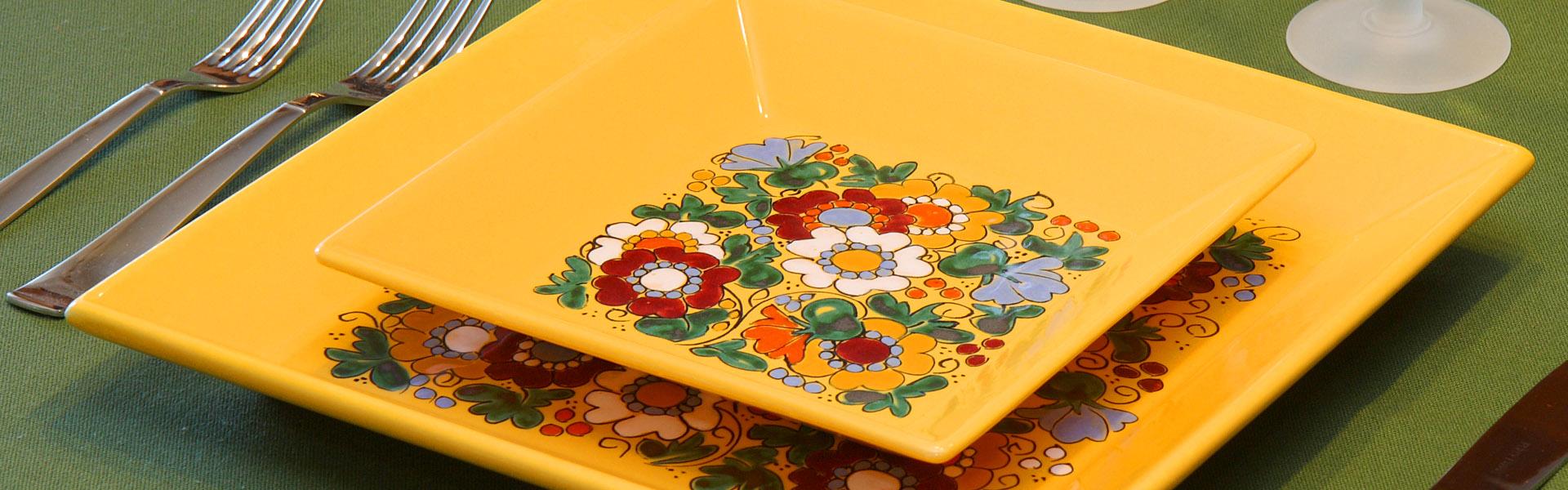 platos cuad1 ceramica bariloche