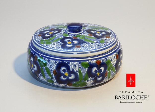 Bombonera en Pensamiento Ceramica Bariloche