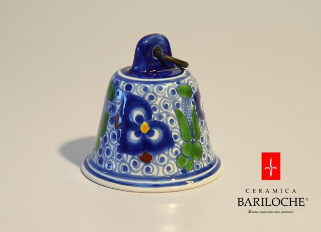 Campanita en Pensamiento Ceramica Bariloche