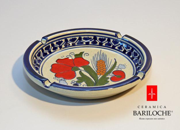 Cenicero en Espiga Ceramica Bariloche