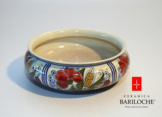 Centro de mesa en espiga de Ceramica Bariloche