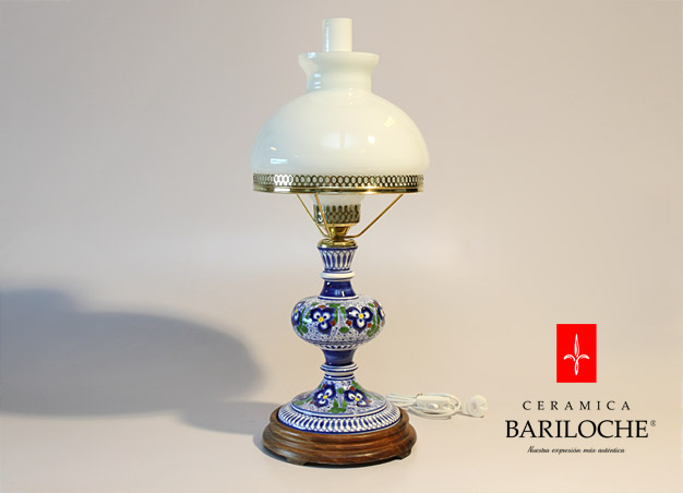Lámpara en Pensamiento Ceramica Bariloche
