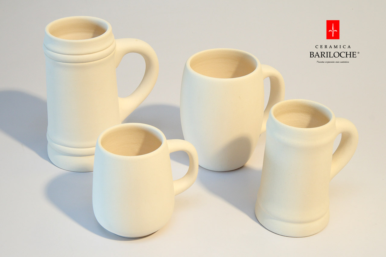 Bizcocho cerámica - chops