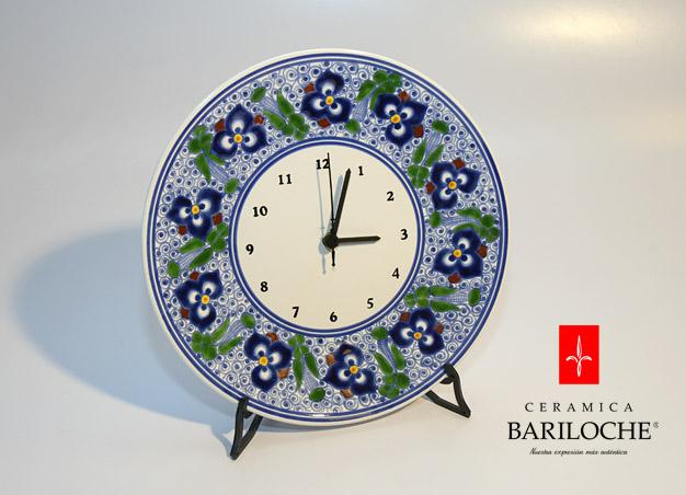 Reloj en Pensamiento Ceramica Bariloche