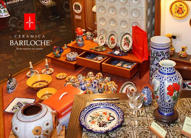 Vidriera local comercial Mitre 112 Bariloche - Ceramica Bariloche