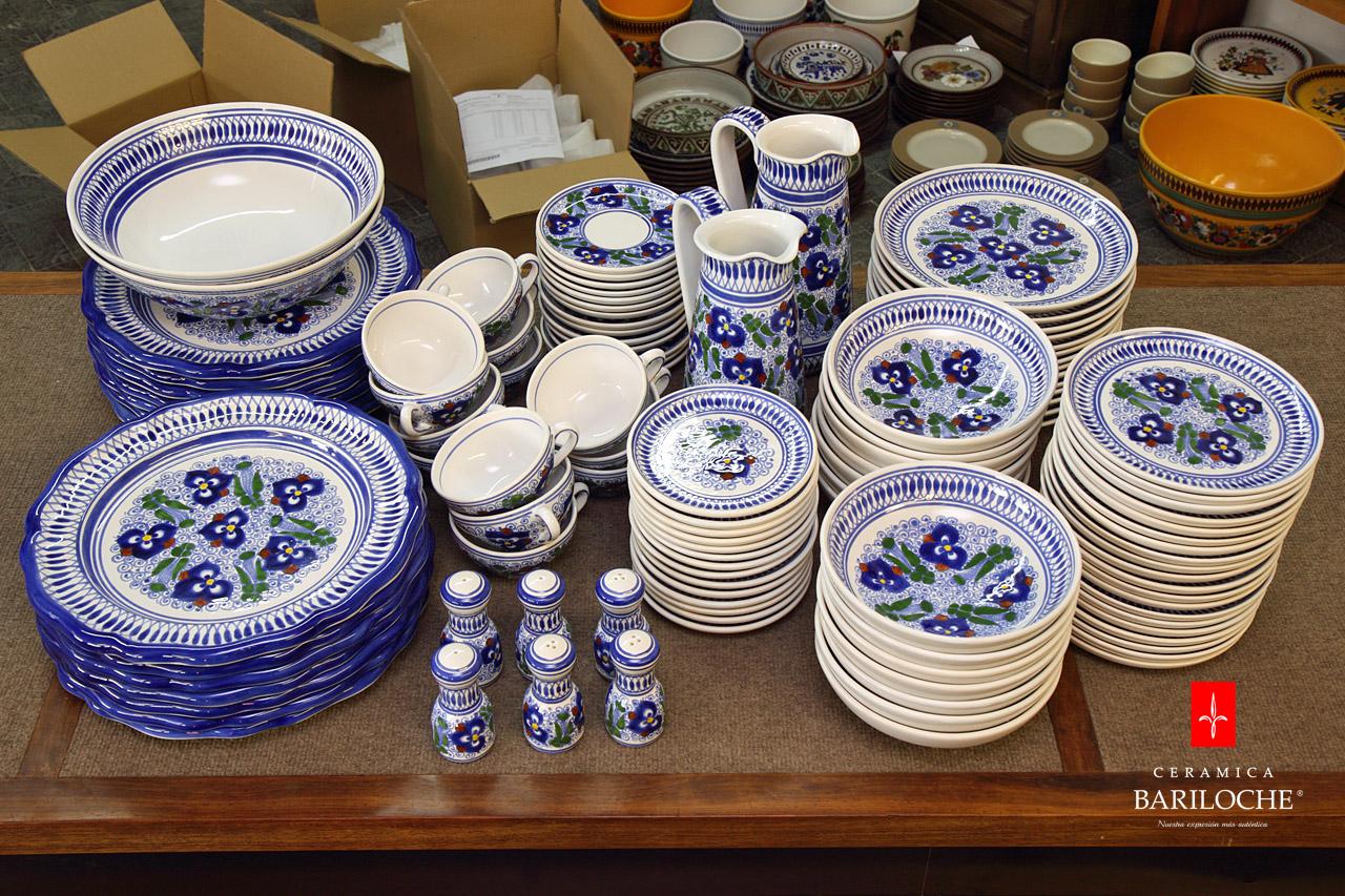Porcelana cer mica y gres cer mica bariloche for Marcas de vajillas de porcelana